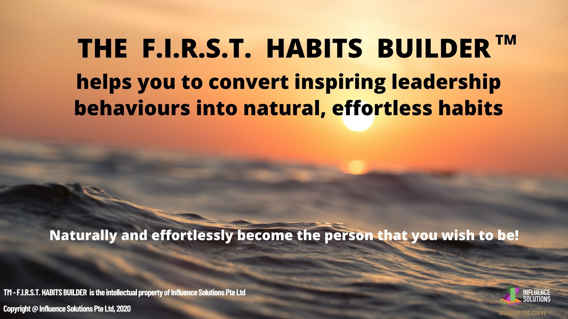 The FIRST Habits builder